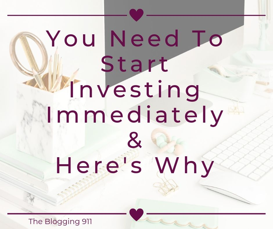 You Need To Start Investing ASAP & Here's Why