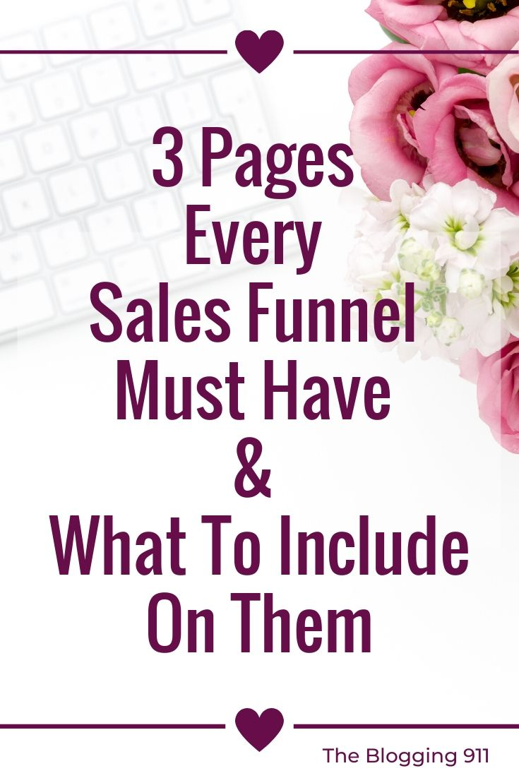 FLat Lay desktop 3 Pages Every Sales Funnel Must Have