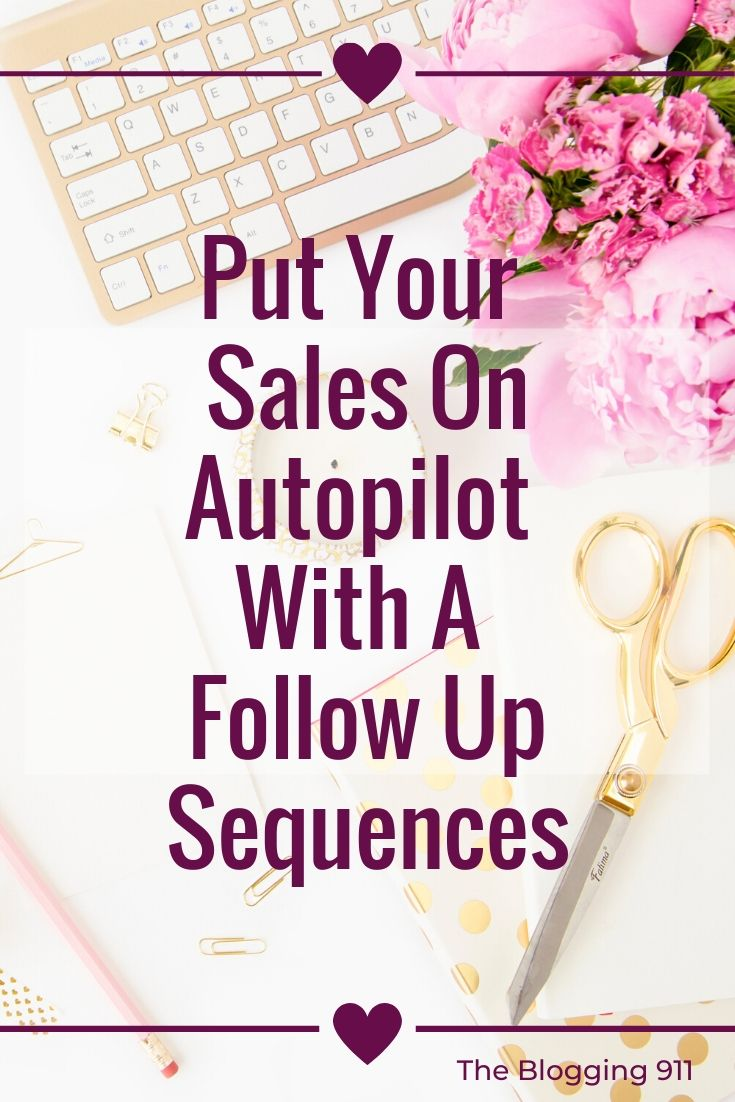 flat lay desk put your sales on autopilot with a followup sequence