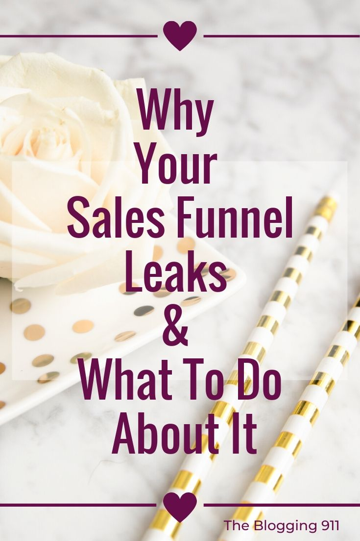 Flatlay desktop Does your sales funnel leak?