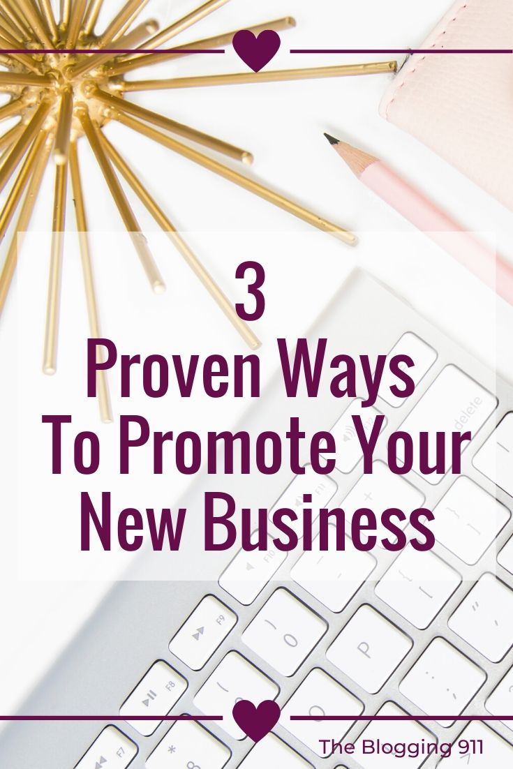 flat lay desk - 3 ways to promote your new business