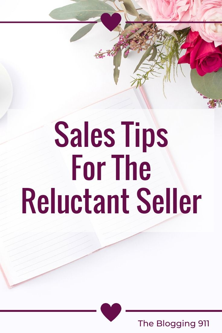 flat lay desk - sales tips for a reluctant seller