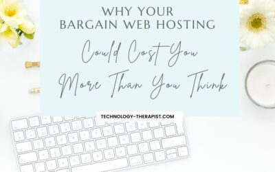 Why Your Bargain Web Hosting Could Cost You More Than You Think